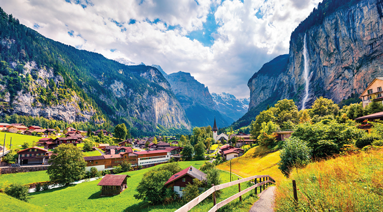 Switzerland is easily a tourist's paradise