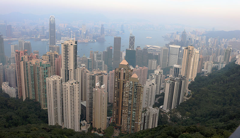 Hong Kong is the Pearl of the Orient
