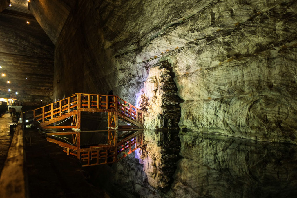 Visit Europe largest salt Mine in slanic prahova